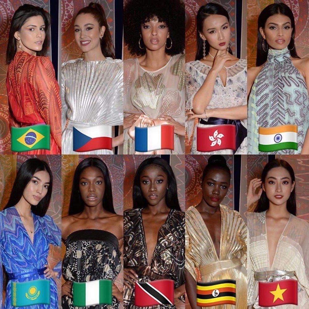 Lương Thùy Linh vào Top 10 phần thi Siêu mẫu tại Miss World-4