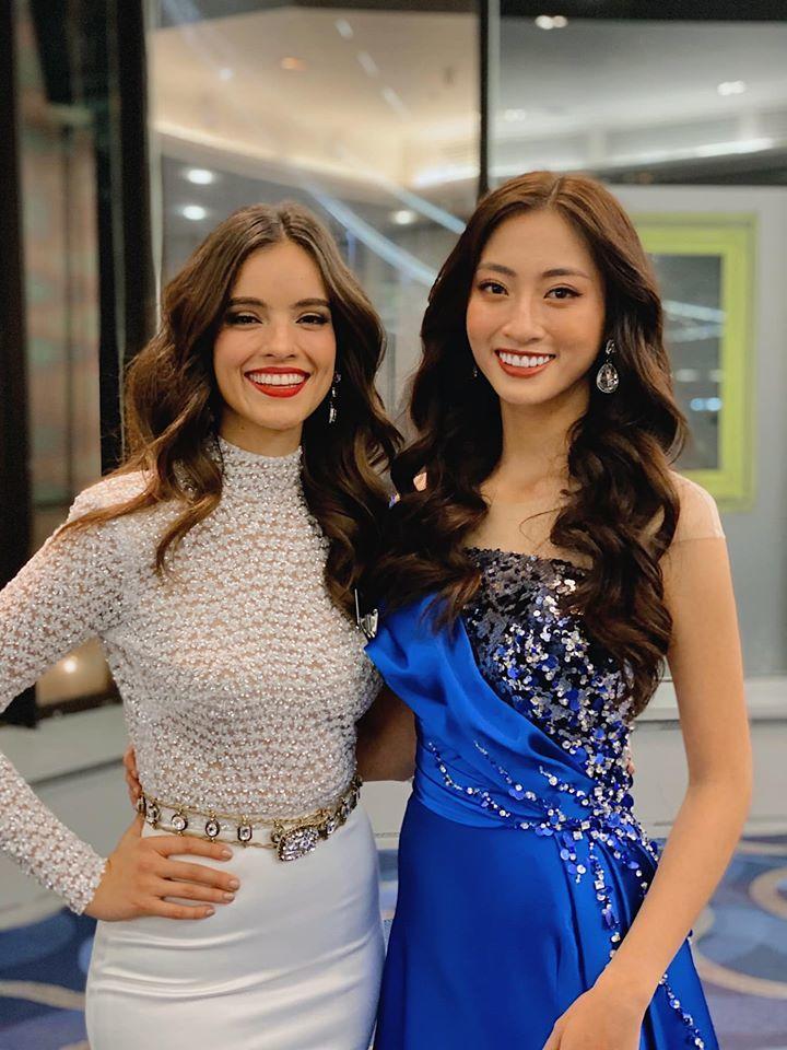 Lương Thùy Linh vào Top 10 phần thi Siêu mẫu tại Miss World-5
