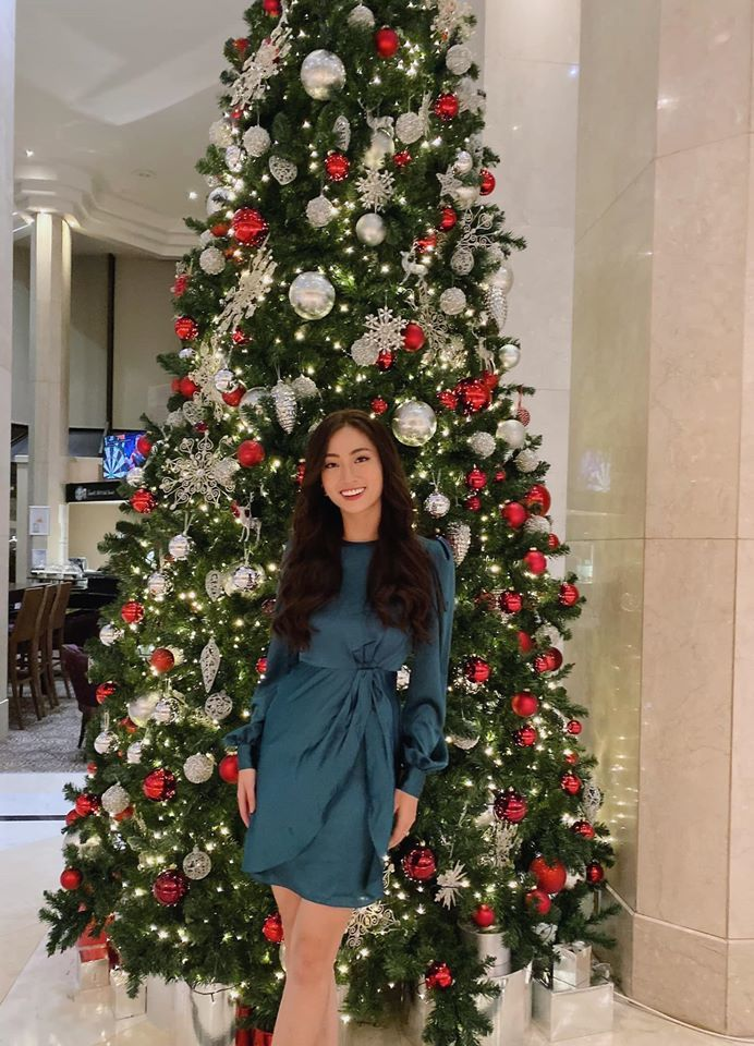 Lương Thùy Linh vào Top 10 phần thi Siêu mẫu tại Miss World-7