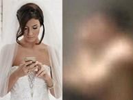 Trước hôn lễ nhận được clip nhạy cảm của chồng và người yêu cũ, cô dâu mặt không đổi sắc quay sang nói mấy câu khiến chú rể bật khóc