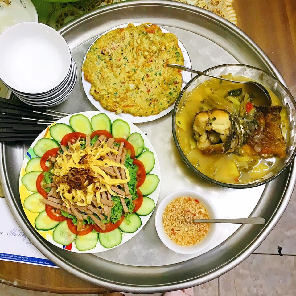 Mâm cơm gái Nghệ An nấu cho 5 người chưa tới 100k vẫn đề huề khiến chồng khen nở mũi-8