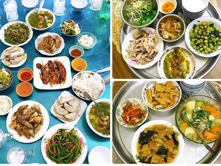 Mâm cơm gái Nghệ An nấu cho 5 người chưa tới 100k vẫn đề huề khiến chồng khen nở mũi