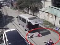 3 học sinh tiểu học bị văng khỏi xe đưa đón: Hiệu trưởng nói gì?