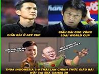 U22 Thái Lan thua thảm, dân mạng Việt Nam hả hê chế ảnh chế giễu