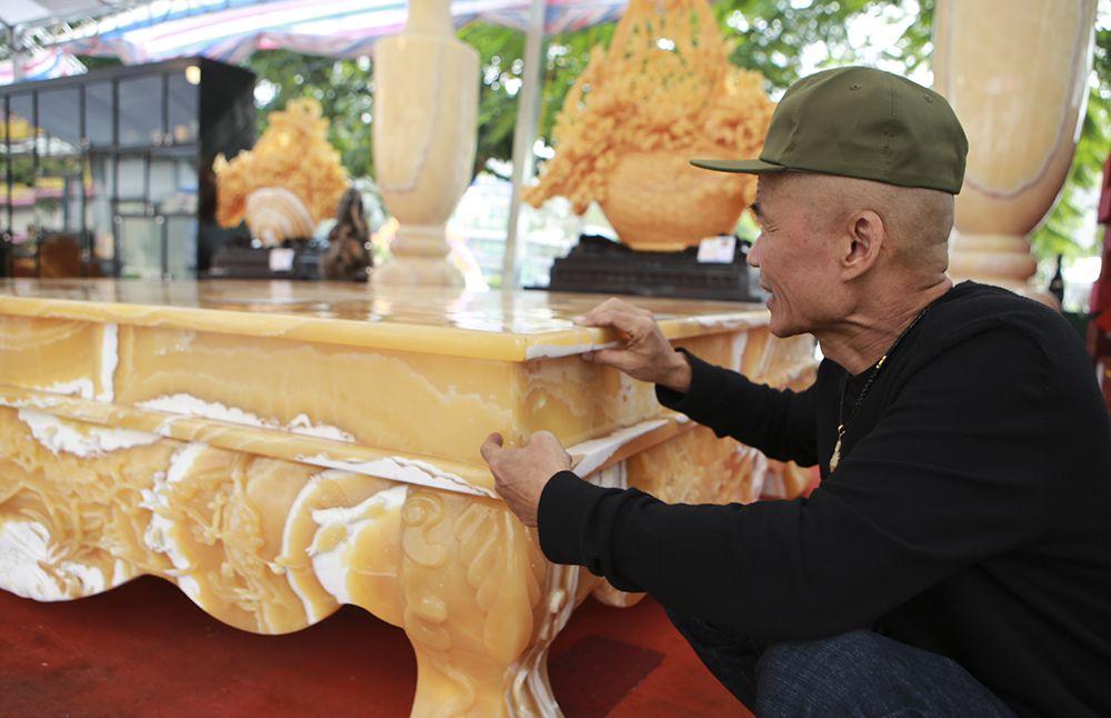 Chiêm ngưỡng chiếc sập bằng đá độc nhất vô nhị ở Hà Nội-8