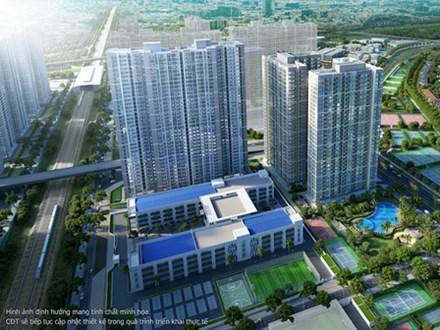 Ra mắt The Sapphire 4 - 'viên ngọc sáng' của Vinhomes Smart City