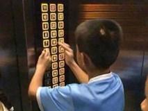 Con nghịch ngợm bấm hết các nút trong thang máy khiến mọi người tức giận, mẹ nói 1 câu khiến ai cũng dịu lại, còn động viên được đứa trẻ