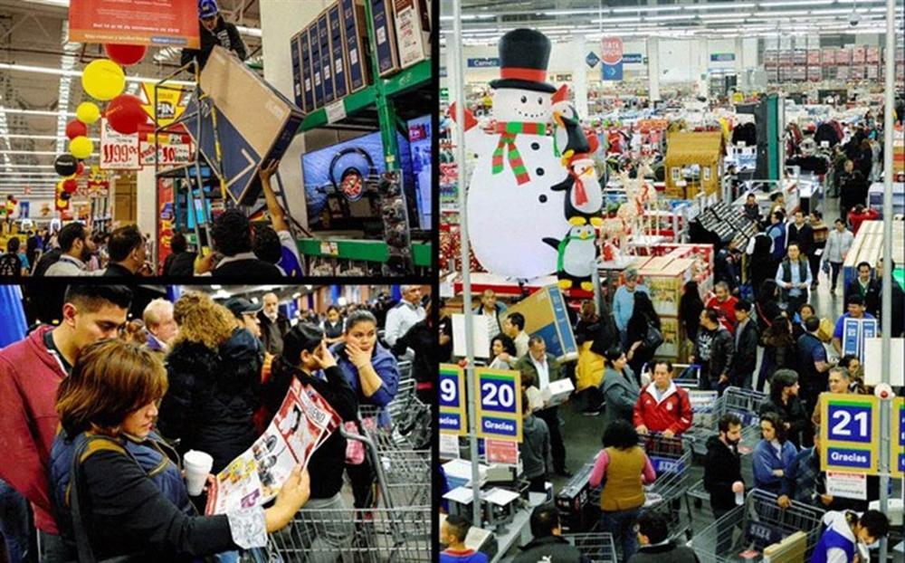 Black Friday bùng nổ tại các cửa hàng trên khắp thế giới-3