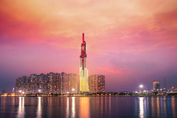 Vinpearl Luxury Landmark 81- Khách sạn hướng sông hàng đầu thế giới 2019-2