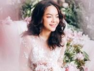 Được fan tích cực 'đẩy thuyền' với Noo Phước Thịnh, Phạm Quỳnh Anh bất ngờ diện váy cưới lung linh như cô dâu