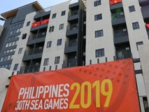 Khu nhà ở của Đoàn thể thao Việt Nam tại SEA Games 30