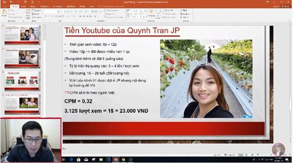 Xôn xao thông tin Quỳnh Trần JP thu nhập 600 triệu/tháng từ Youtube, bất ngờ nhất là chính chủ cũng vào bình luận cực xôm-2