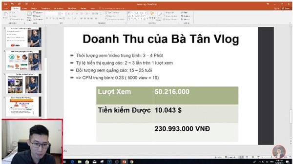 Xôn xao thông tin Quỳnh Trần JP thu nhập 600 triệu/tháng từ Youtube, bất ngờ nhất là chính chủ cũng vào bình luận cực xôm-5