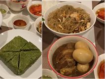 Khoe mâm cơm ngon mắt như Tết, hot mom Hà Anh khiến hội chị em bất ngờ vì tài nấu ăn siêu đỉnh