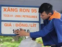 Giá xăng tăng từ 15h chiều nay