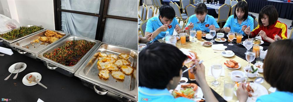 Tuyển nữ Việt Nam từ bữa ăn thiếu chất đến vé vào bán kết SEA Games-1