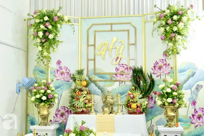 Bất ngờ không gian tại nhà Hoàng Oanh trước giờ G đám cưới: Chẳng lộng lẫy sang chảnh nhưng nhìn là thấy mê ngay-1