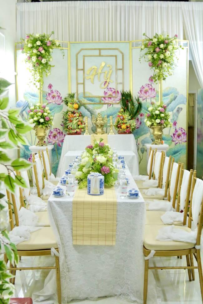 Bất ngờ không gian tại nhà Hoàng Oanh trước giờ G đám cưới: Chẳng lộng lẫy sang chảnh nhưng nhìn là thấy mê ngay-2