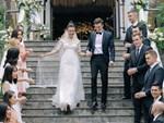 Nhã Phương sánh đôi với Trường Giang, cùng dàn sao Vbiz tới chung vui trong đám cưới Hoàng Oanh-26