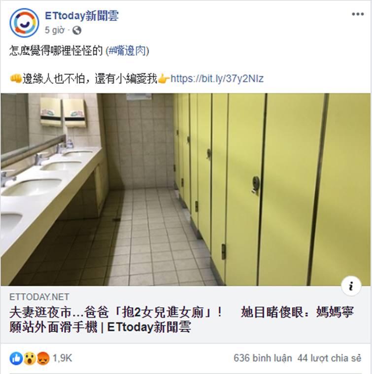Bố dắt con gái vào nhà vệ sinh nữ trong khi mẹ bên ngoài nghịch điện thoại, câu chuyện khiến dân mạng tranh cãi nảy lửa-2