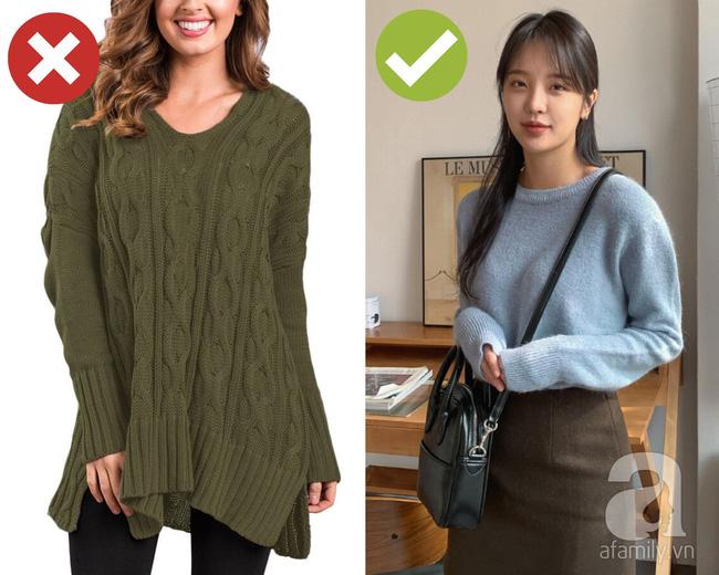 3 lỗi diện áo len nơi công sở: Nhẹ thì dìm dáng kém xinh, nặng thì kém duyên hết sức-1