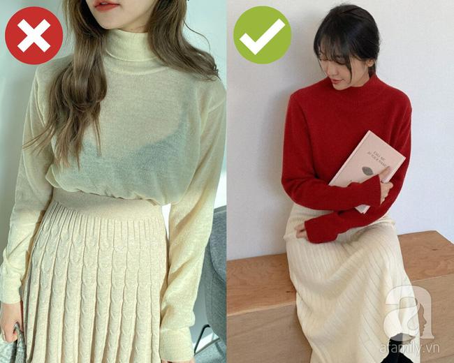 3 lỗi diện áo len nơi công sở: Nhẹ thì dìm dáng kém xinh, nặng thì kém duyên hết sức-2