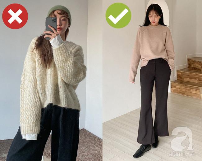 3 lỗi diện áo len nơi công sở: Nhẹ thì dìm dáng kém xinh, nặng thì kém duyên hết sức-3