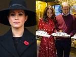 """Diện váy 30 triệu đồng, Công nương Kate cân"""" cả Hoàng gia Anh, đọ sắc với Đệ nhất phu nhân Mỹ-9"""