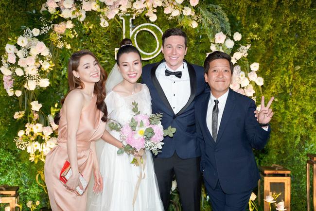 Vì một hành động trong đám cưới Hoàng Oanh, Trường Giang được khen ngợi là ông chồng chiều vợ nhất showbiz Việt-3