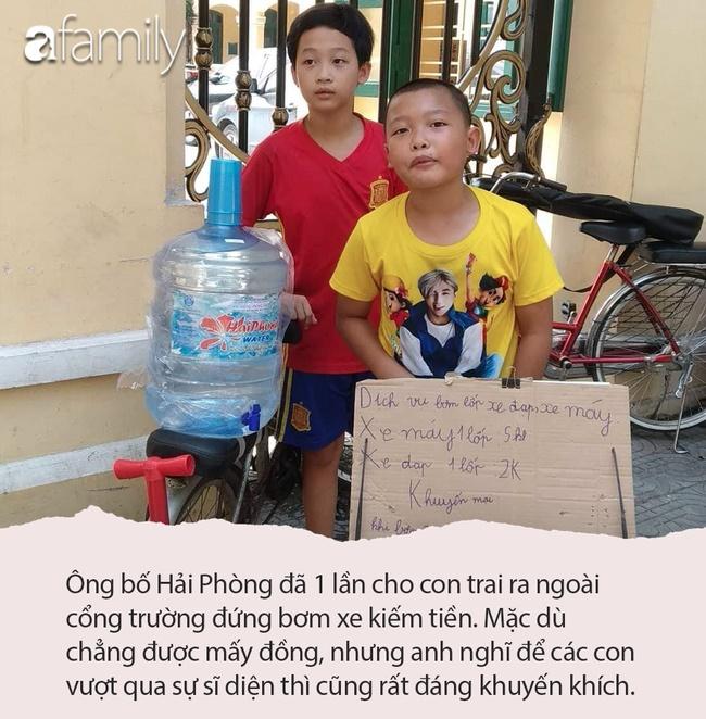 Dạy con kiểu không dạy, bố Hải Phòng hãnh diện khoe 2 bé lớp 6, lớp 8 tự kiếm được tiền nhờ làm thêm, cơm nước cực đảm đang-3