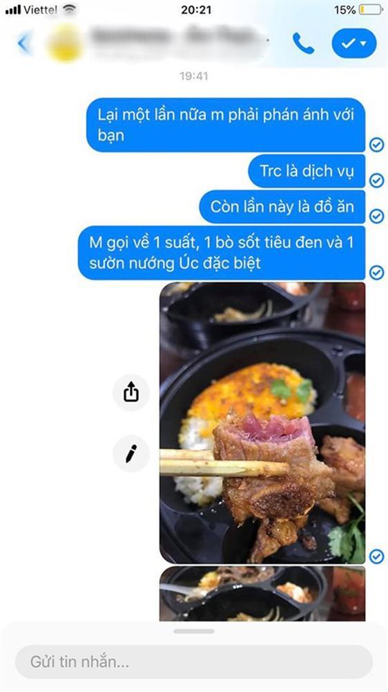 Order sườn nướng đặc biệt, cô gái sốc tận óc khi nhận đồ, cắn miếng sườn còn nguyên thịt sống đỏ au-5