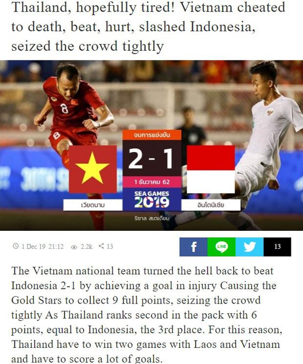 Báo Thái: Việt Nam thoát khỏi địa ngục một cách thần kỳ, U22 Thái Lan mệt rồi đây!-2