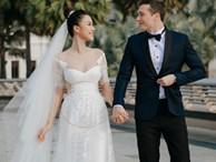 Vừa cưới chồng chưa đầy 1 ngày, Á hậu Hoàng Oanh đã lộ dấu hiệu cho thấy đang mang thai?