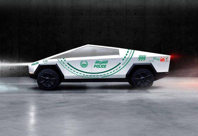 Cảnh sát Dubai chọn Tesla Cybertruck, trong khi người Anh tín nhiệm Ranger Raptor-1