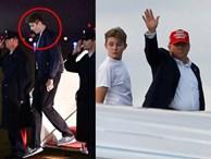Gia đình Tổng thống Mỹ quay trở lại sau kỳ nghỉ lễ, Barron Trump gây thương nhớ với vẻ ngoài lạnh lùng, sở hữu góc nghiêng 'thần thánh'