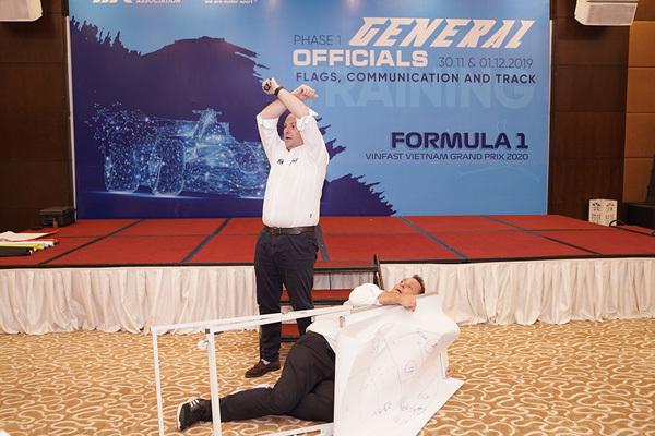 1.000 tình nguyện viên đã sẵn sàng cho chặng đua F1 Việt Nam-2