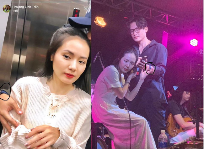 Cặp đôi Cơn mưa tình yêu Hà Anh Tuấn - Phương Linh đang hẹn hò?-1