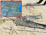 Hàng chục bánh heroin có chữ Trung Quốc trôi dạt vào biển: Dân nhặt được tưởng... bánh kẹo-4