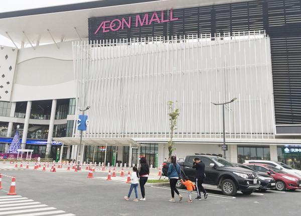 Thất vọng Aeon Mall Hà Đông, khai trương rồi hàng đóng cửa im lìm-1