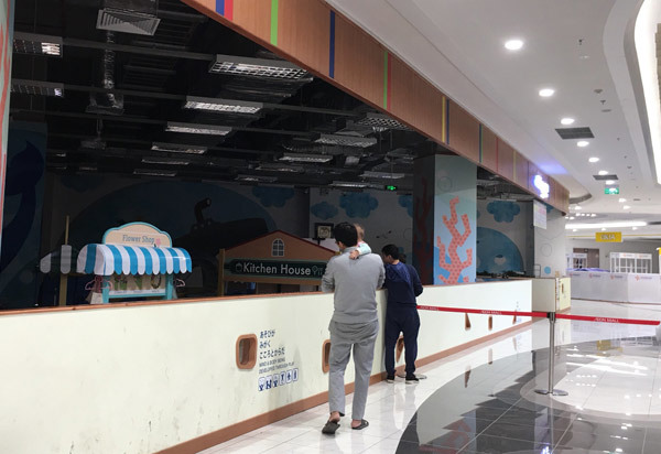 Thất vọng Aeon Mall Hà Đông, khai trương rồi hàng đóng cửa im lìm-8