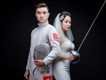 Nhan sắc của vợ hot boy đấu kiếm Vũ Thành An ở SEA Games