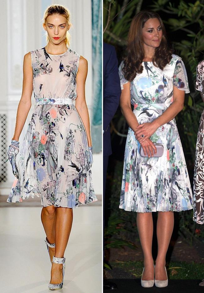 Để không hớ hênh khi mặc váy hở ngực, Công nương Kate khéo léo chỉnh sửa lại thiết kế trước khi diện-5
