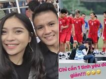 Đang bận thi đấu, Quang Hải bỗng có chia sẻ về tình yêu đầy bất ngờ trên mạng xã hội khiến fan thi nhau