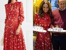 Để không hớ hênh khi mặc váy hở ngực, Công nương Kate khéo léo chỉnh sửa lại thiết kế trước khi diện