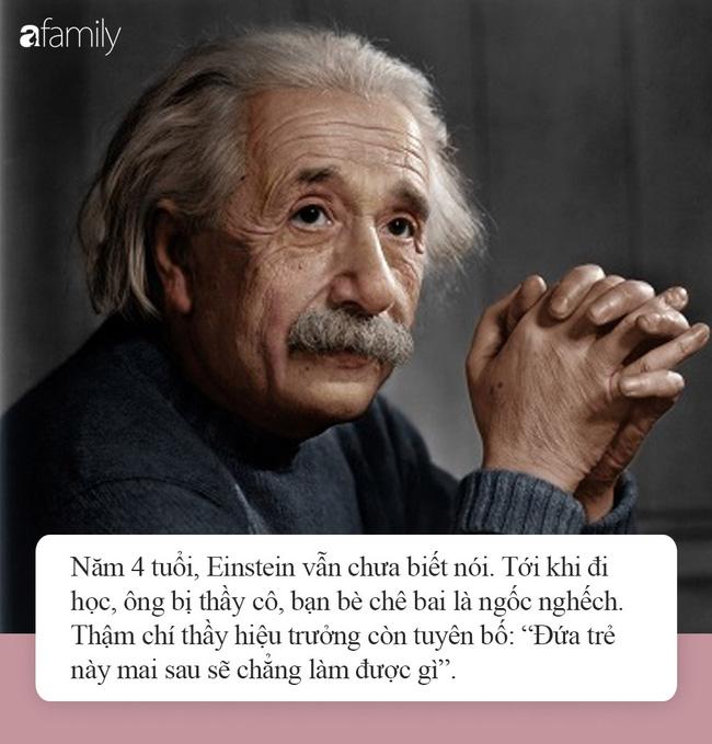 Nếu con nghịch ngợm, kém cỏi hay lười biếng, đừng vội tuyệt vọng bởi chính Albert Einstein và Steve Jobs cũng từng như thế-2
