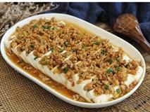 Chống ngán cho bữa tối với món đậu phụ hấp không dầu mỡ cực ngon cơm