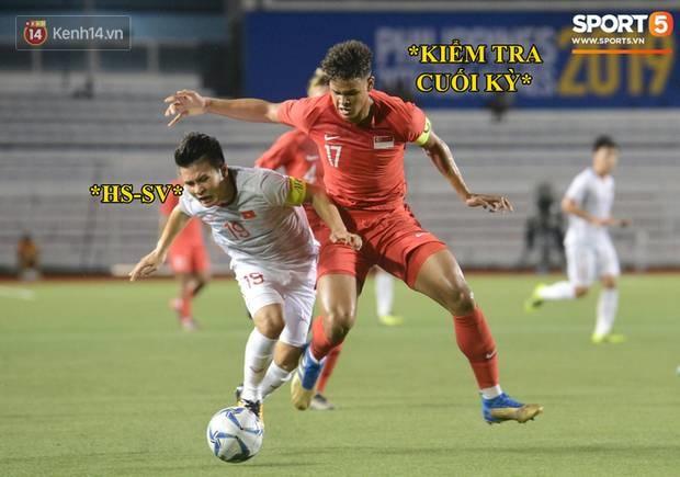 Loạt ảnh chế đội tuyển Việt Nam nở rộ sau trận gặp Singapore: Quang Hải, Chinh Đen cùng loạt biểu cảm không thể nào đắt giá hơn!-6
