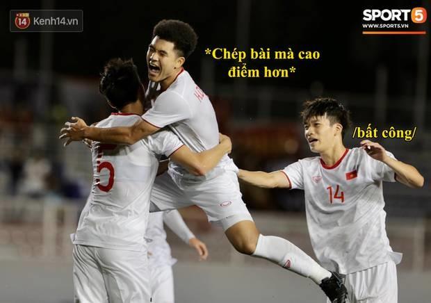 Loạt ảnh chế đội tuyển Việt Nam nở rộ sau trận gặp Singapore: Quang Hải, Chinh Đen cùng loạt biểu cảm không thể nào đắt giá hơn!-7