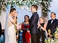 Á hậu Hoàng Oanh lần đầu chia sẻ cảm xúc sau hôn lễ trong mơ cùng ông xã người Mỹ điển trai, nhớ nhất câu nói này từ mẹ chồng