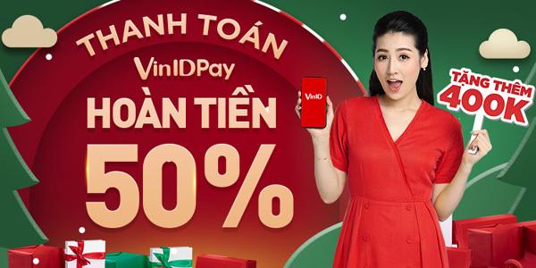 VinID Pay tung 'bão' hoàn tiền, ưu đãi tới 11 tỷ đồng-1